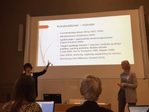 Camilla Wide (Åbo/Turku) und Camilla Lindholm (Helsingfors/Helsinki)